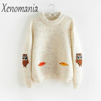 Ugly Christmas Sweater Women Sweaters And Pullovers Pull Femme 2017 Korean Winter Autumn Jumper Cute Pullover Kawaii Knitted New