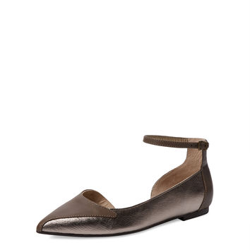 Seychelles Women's Most Likely Pointed-Toe Flat - Brown -