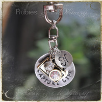 Capture Life Keychain - Personalized Camera Gift, Photography, Gift for Photographer, Camera Bag, Purse Charm
