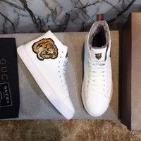 cc kuyou Gucci Hightop WINTER Tiger With FUR