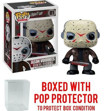 Funko Pop Movies: Jason Voorhees 01 2292 W/Protector case