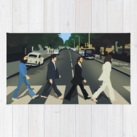 Abbey Road Area & Throw Rug by Valerie Hoffmann | Society6