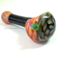Glass Pipe, Heady Honeycomb Sparkly Pipe, Ed DuBick, Hand Blown Glass, READY to SHIP, Cgge Team, Boro Ballers