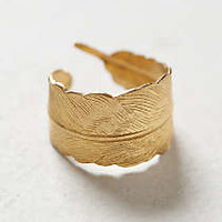 Anthropologie - Arced Feather Ring