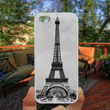 Eiffel Tower Hand painted iphone 4/4s case iphone 5/5s/5c case samsung galaxy s3/s4 case galaxy S5 case Waterproof gift case 512