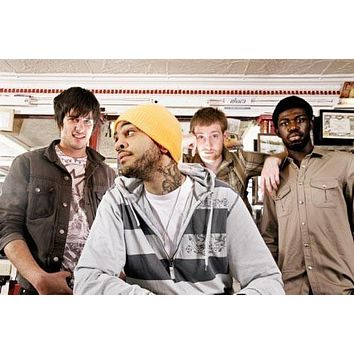 Gym Class Heroes poster Metal Sign Wall Art 8in x 12in