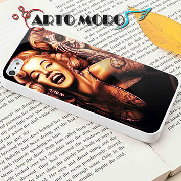 Design Marilyn Monroe Day Of The Dead - iPhone 4/4S Case, iPhone 5/5S Case, iPhone 5C Case and Samsung Galaxy S3 i9300 Case, S4 i9500 Case.