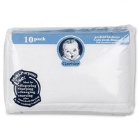 Gerber 10-Pack Cloth Diapers