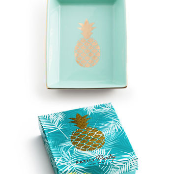 """Patio Party"" Decorative Tray - Pineapple"