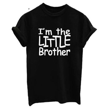 I'm The Little Brother - Funny Siblings Women's T-shirt
