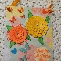 Happy Mothers Day Wall Card Measures 8