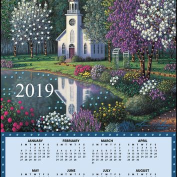 Church Design Works 2019 Calendar Felt Applique Kit