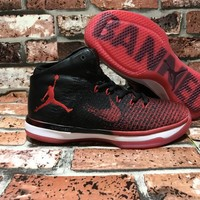 Nike Air Jordan 31 Retro Banned AJ31 845037-001 Size US 7-12