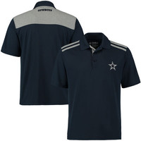 Men's Dallas Cowboys Navy Alvin Synthetic Polo