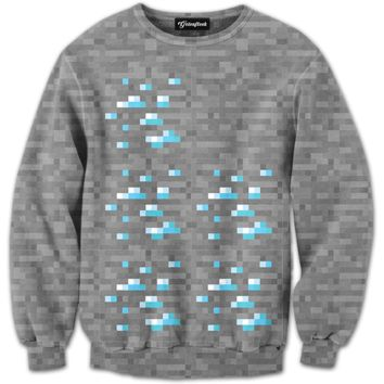 Minecraft Diamond Crewneck