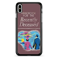Beetlejuice Book Of The Recently Deceased iPhone X Case