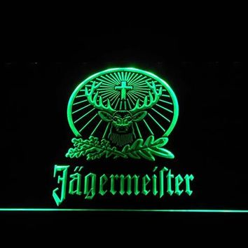 a231 Jagermeister Deer LED Neon Sign