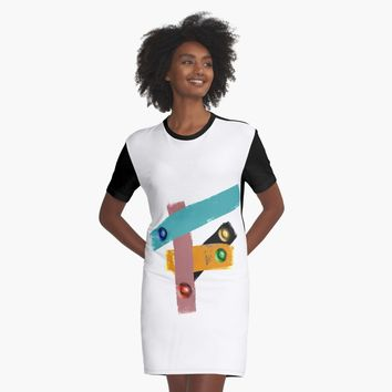 '24' Graphic T-Shirt Dress by BillOwenArt