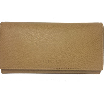 Gucci Women's Leather Continental Flap Wallet 346058 7709 Whiskey Beige