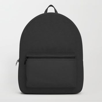 Midnight Black Backpack by spaceandlines