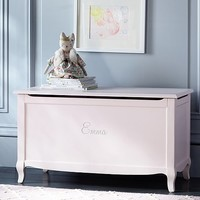 Claudia Toy Chest, Vintage Pale Pink