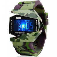 STORMTROOPERS 50 Meter Waterproof Silicon Band Top Wristwatch