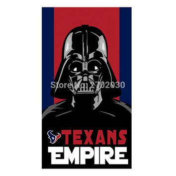 Empire Houston Texans Flag Banners Football Team Flags 3x5 Ft Super Bowl Champions Banner Texan Hanging Printed Decoration