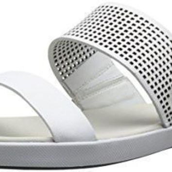 Lacoste Women's Flat Sandal Slide Natoy Synthetic sole Molded foot bed