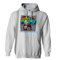 Zombie Apocalypse Scooby Doo Hoodie for Mens Hoodie and Womens Hoodie ***