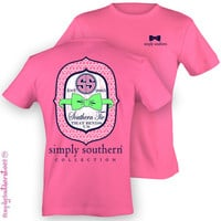 Simply Southern 'Southern Tie That Binds Us' Shirt - Hot Pink