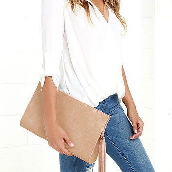 Heyday Honey Blush Clutch