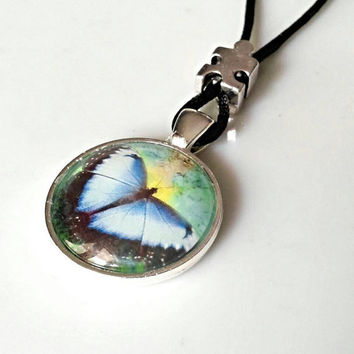 Autism butterfly necklace, autism awareness jewelry, puzzle piece necklace,mother's necklace,  autism gifts for mom, friend's and family