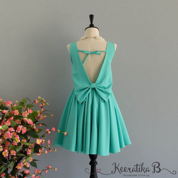 Party Angel Dress Mint Green Backless Party Dress Green Backless Dress Prom Party Wedding Cocktail Bridesmaid Dresses Mint Green Dress XS-XL