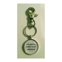 Parks and Rec Leslie Knope quote keychain- customized keychain
