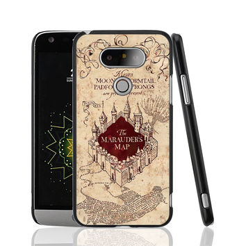 09286 Marauders Map Harry Potter cell phone protective case cover for LG G5 G4 G3 K10 K7 magna
