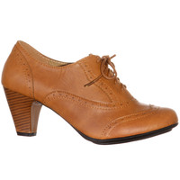 Whiskey Mill Lace-Up Oxford Heels