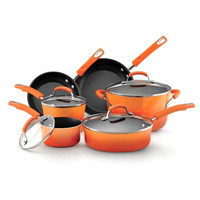 10pc Cookware Set- Porcelain Enamel