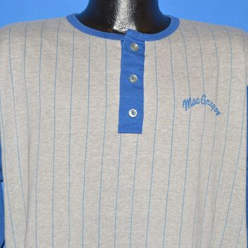 80s MacGregor Striped Baseball Jersey t-shirt Large
