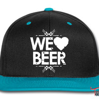 We Love Beer Snapback