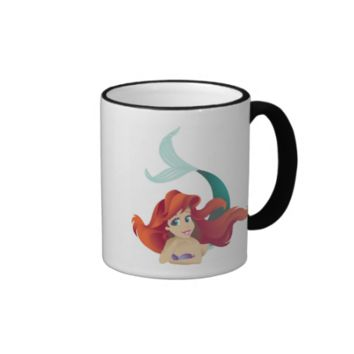 The Little Mermaid's Ariel Disney Ringer Coffee Mug