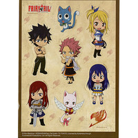 Fairy Tail Chibi Characters Sticker Sheet