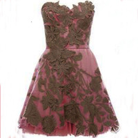 Sweat princess strapless embroidery skirts / party dress from Girlfirend