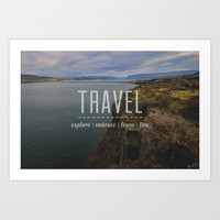 Travel Art Print by III XVI Photography