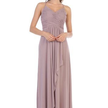 By Her Side Bridesmaids Dress - Mauve