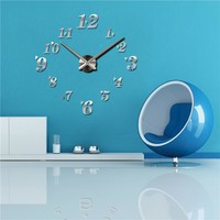 Clock  Reloj  Pared  Acrylic  Mirror  Clocks  Modern