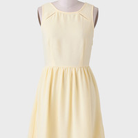 Sweet Lemoncello Embroidered Dress