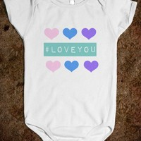 Love You Baby One Piece cute