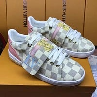Louis Vuitton Lv Women Casual Fashion Flats Shoes