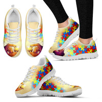 Artistic Autism Awareness Sneaker