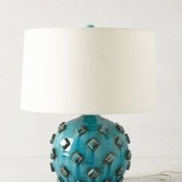 Azzurra Lamp Ensemble by Anthropologie Turquoise One Size Lighting
